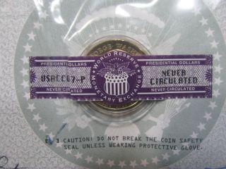 Uncirculated 2007 Presidential Washington $1.  00 Coin photo