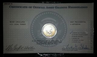 2007 Thomas Jefferson Presidential Coin,  Usa1601 - A photo