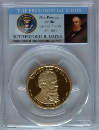Pcgs 2011 S Proof Rutherford B Hayes 19th Presidential Dollar Pr69 Usa Series $1 photo