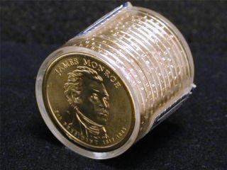 (12) 2008 - P James Monroe Presidential Dollars Uncirculated Word Reserve Monetary photo