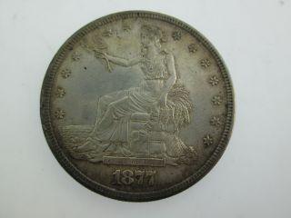 1877 S Trade Dollar San Francisco. . .  Look photo