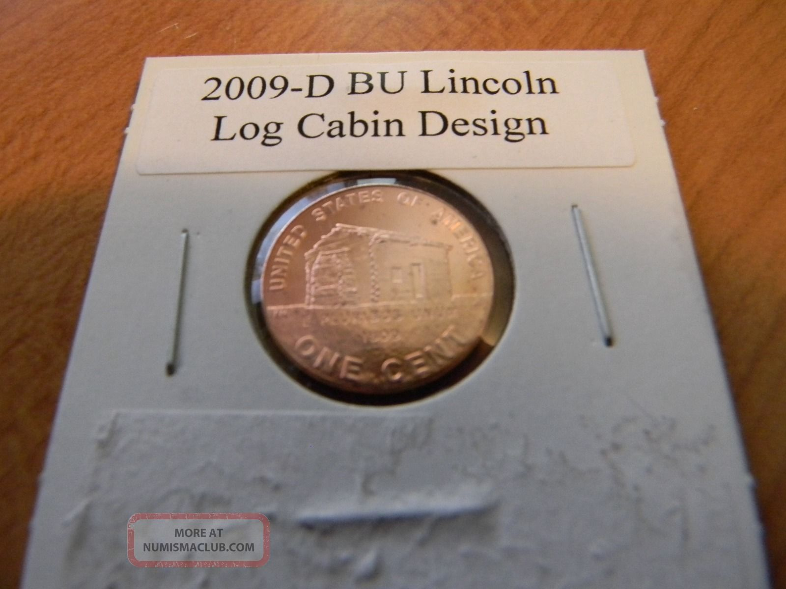 Amazing photo of 2009 d bu lincoln log cabin penny red cent design u   s   coin 1 lgw  with #7F4820 color and 1600x1200 pixels