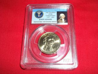2007 - P Pcgs Ms66 John Adams,  First Day Of Issue - Position A,  13814306 photo