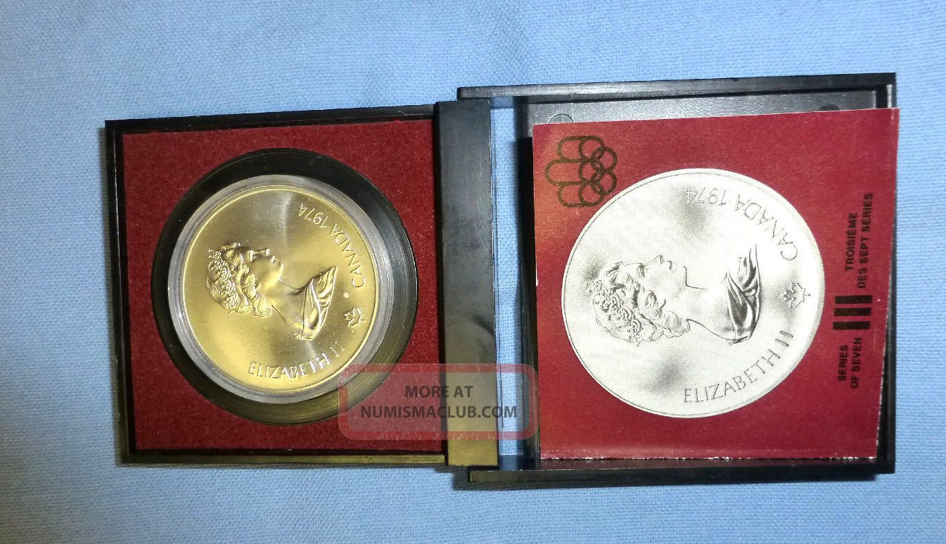 1976 montreal olympic five dollar coin