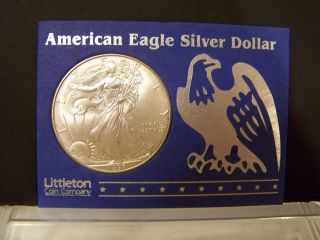 1996 Silver Eagle - Key Year - Extremely Rare - Uncirculated photo
