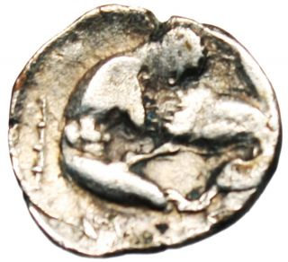 Lucania,  Herakleia Silver Diobol