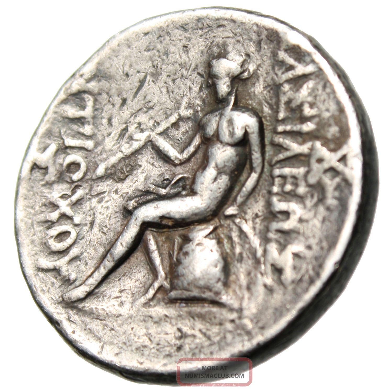 Antiochus Ii Theos Silver Tetradrachm