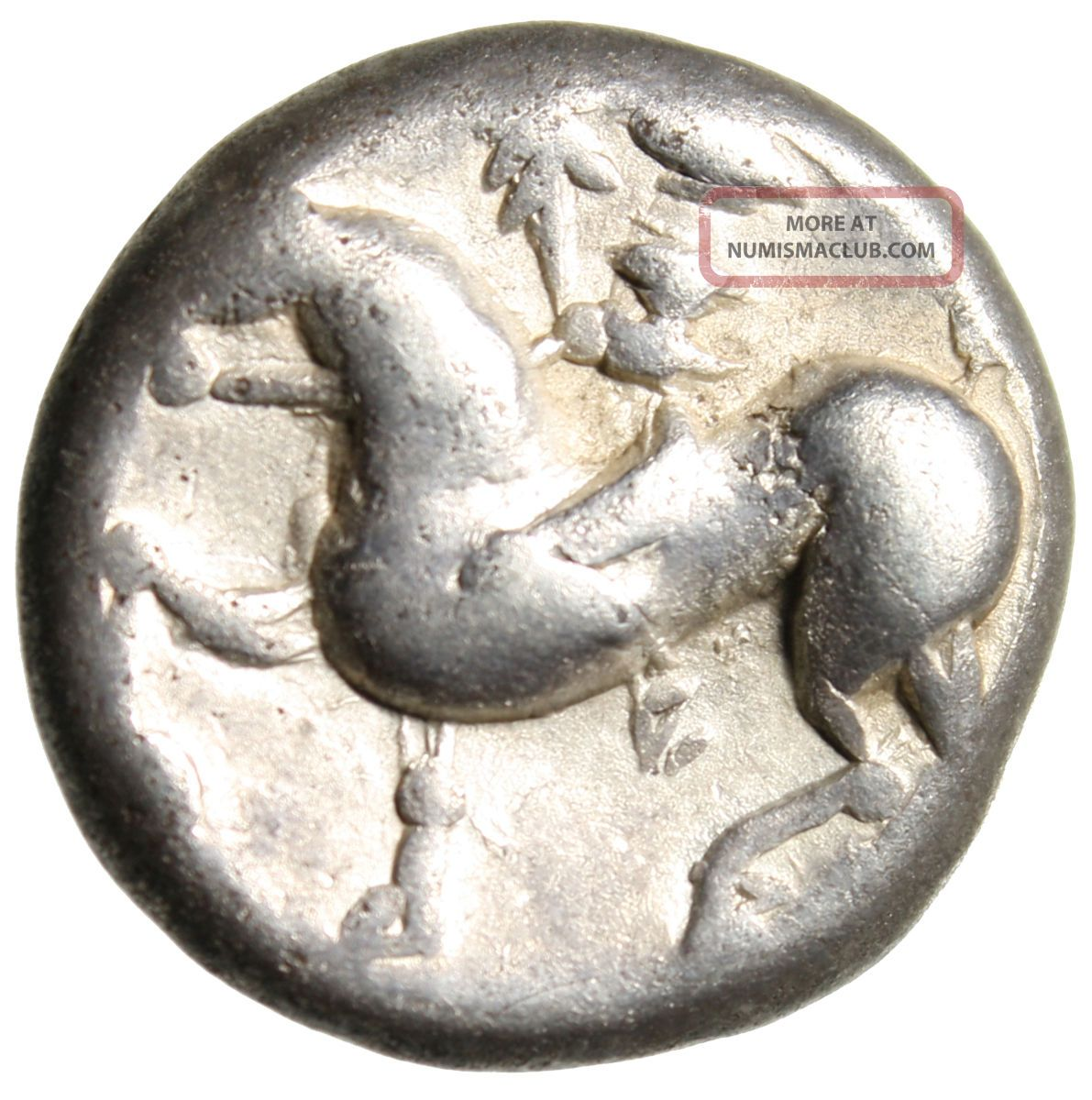 Celtic Imitative Philip Ii Silver Ar Tetradrachm