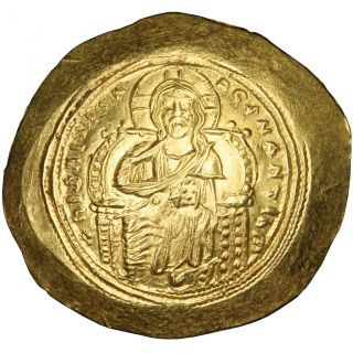 Bysantine Empire,  Constantin Ix Monomaque,  Histamenon Nomisma photo