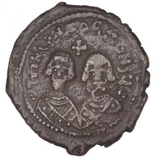 Bysantine Empire,  Heraclius ' Revolt,  Follis photo