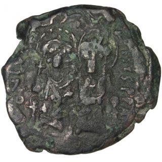 Bysantine Empire,  Justin Ii,  Demi Follis photo