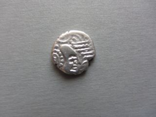 India - Ancient - Sassanian Type - King ' S Portrait - Silver Coin photo