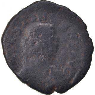 Bysantine Empire,  Justin I,  Follis photo