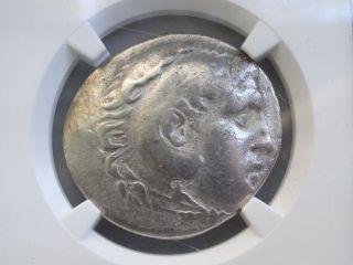 Greek Coin Alexander Iii Posthumous Lycia,  Phaselis Ar Tetradrachm Ngc Ch F C/m photo
