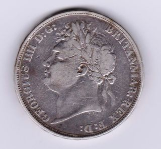 Gb George Iv Crown 1822 Silver photo
