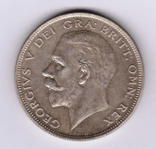 Gb George V 1929 Half Crown Ef photo