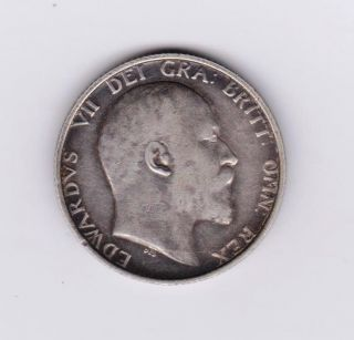 Gb Edward Vii Shilling 1907 photo