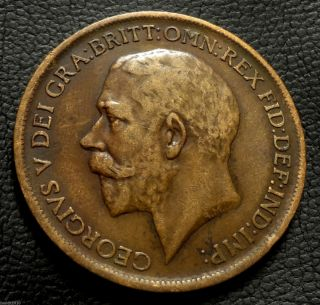 United Kingdom,  Gb.  1911 1 Penny George V