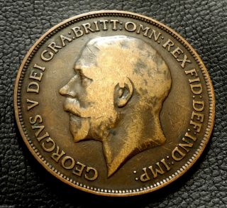 United Kingdom,  Gb.  1914 1 Penny George V
