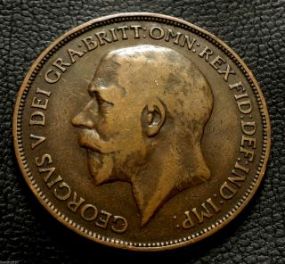 United Kingdom,  Gb.  1915 1 Penny George V