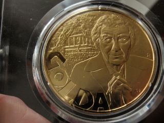 Golda Meir 1973 Judaic Heritage Annual Silver/gold Medal Proof photo