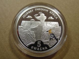 Malawi 5 Kwacha,  2006,  Victoria Falls In Color photo
