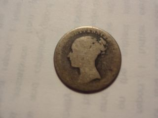 1842 - - - - - Silver Four Pence - - - 172 Years Old photo