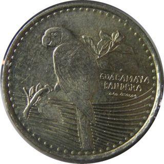 Elf Colombia 200 Pesos 2012 Scarlet Macaw Bird photo