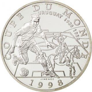 Vème République,  10 Francs,  Coupe Du Monde 1998,  Uruguay photo