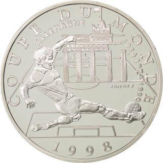 Vème République,  10 Francs,  Coupe Du Monde 1998,  Allemagne photo
