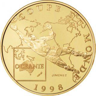 Vème République,  100 Francs Or,  Coupe Du Monde 1998,  Océanie photo