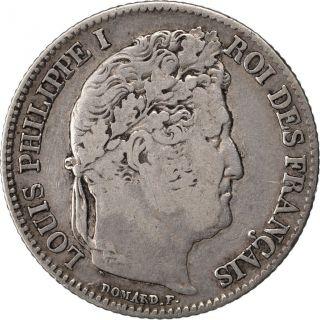 Louis Philippe,  1 Franc Tête Laurée,  1834 A Paris photo