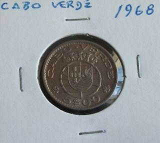 Portugal / Cabo Verde - 5 Escudos - 1968 - Unc photo