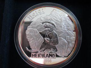 Liechtenstein 20 Euro,  1998,  Heidiland photo