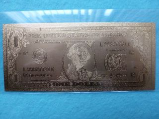 1 - Dollar 24 K.  Gold.  - 2003 A. photo