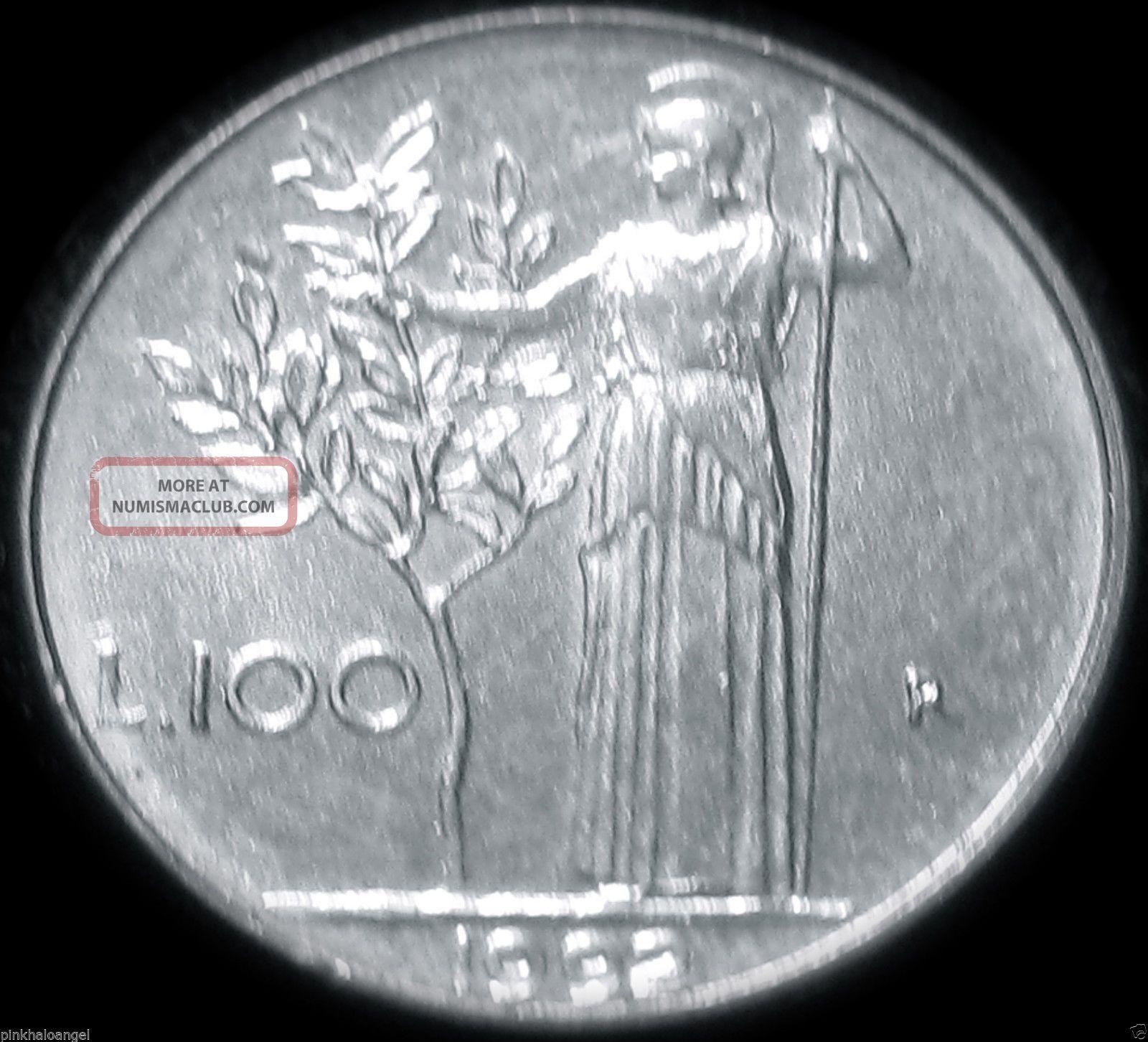 Athena Coin - Italy - ' Mini - Me ' 100 Lire - Great Coin Rare Combine S&h Italy, San Marino, Vatican photo