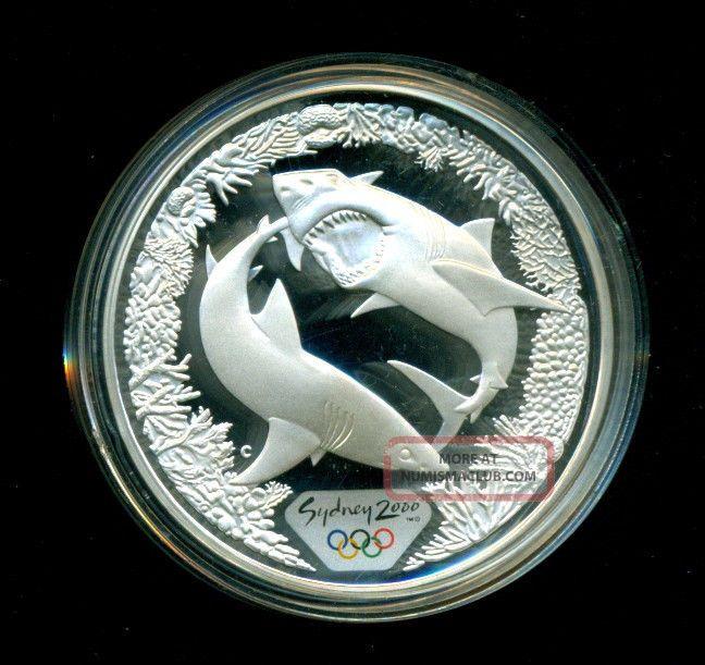 Australia 2000 Sydney Olympic 99 9 Silver Great White