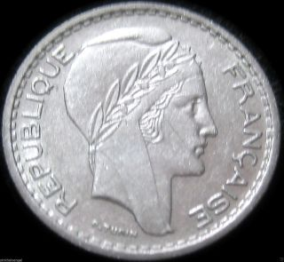 France - 1948 10 Franc Coin - Great Coin - Combined S&h Discounts photo
