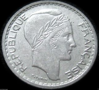 France - 1949b 10 Franc Coin - Great Coin - Combined S&h Discounts photo