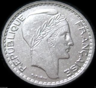France - 1949 10 Franc Coin - Great Coin - Combined S&h Discounts photo