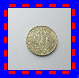 2 1/2 Shillings South Africa Silver Coin 1937 X F Top Coin photo