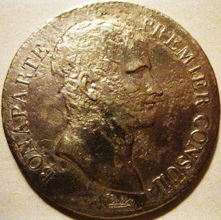 France - L ' An 12 - 5 Francs Napoleon Bonaparte Paris Reverse photo