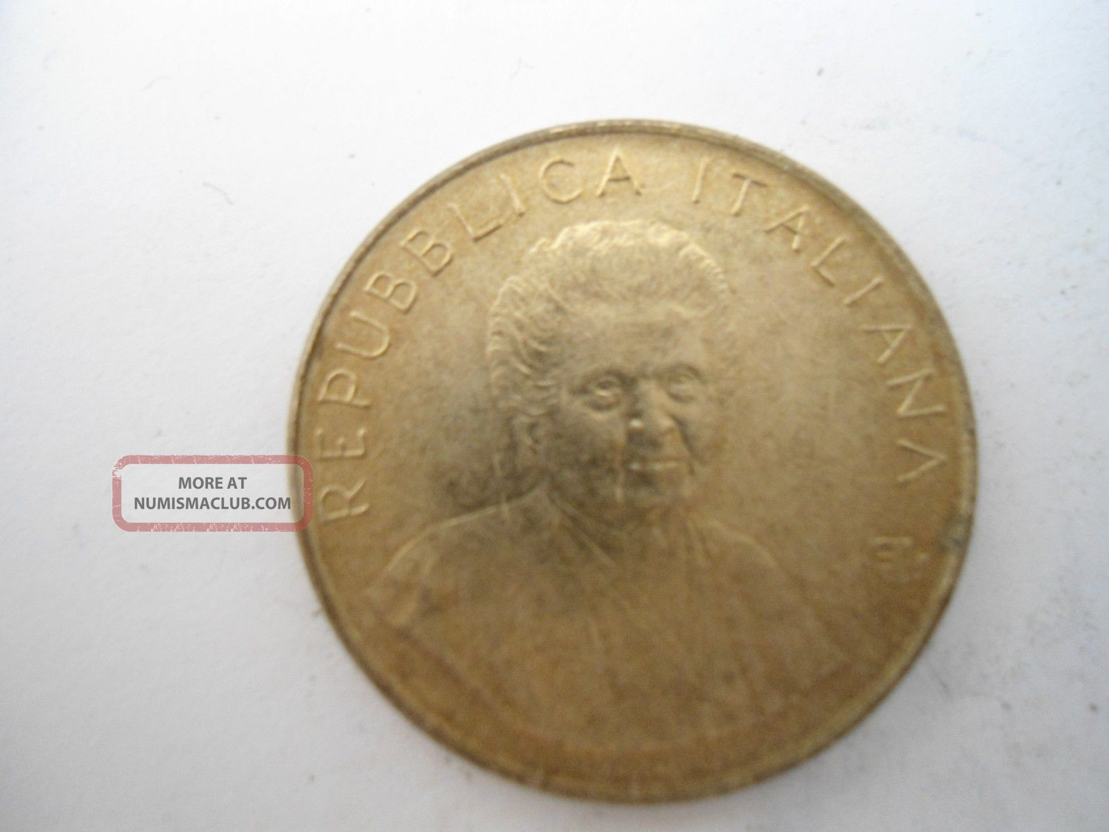 Italy 200 Lire 1980 Fao Series Intel Women´s Year Xf Low S/h Italy, San Marino, Vatican photo