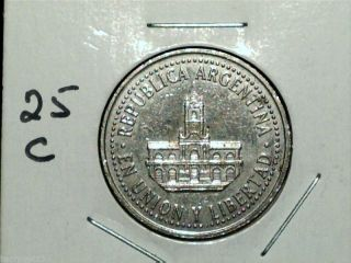 1996 Argentina 25 Centavos photo