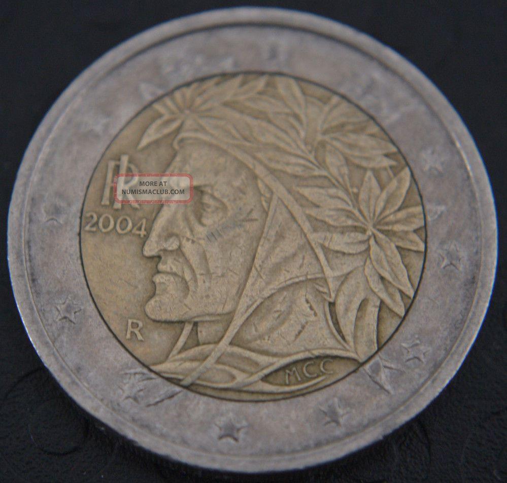 2004 Italy 2 Euro Coin Rare It1 Italy, San Marino, Vatican photo