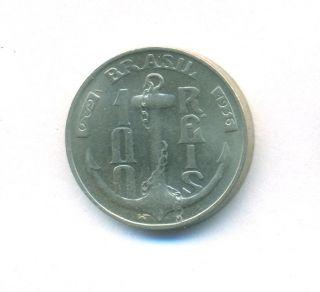 Brazil Coin 100 Reis 1936 Copper - Nickel Km 536 Bu photo