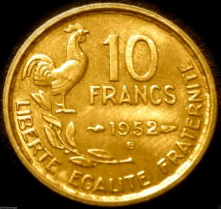 France - 1952b 20 Franc Coin - Great Coin - Combined S&h Discounts photo
