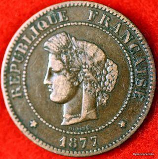 Estate Find 1877 - A Grade France Km - 821.  1