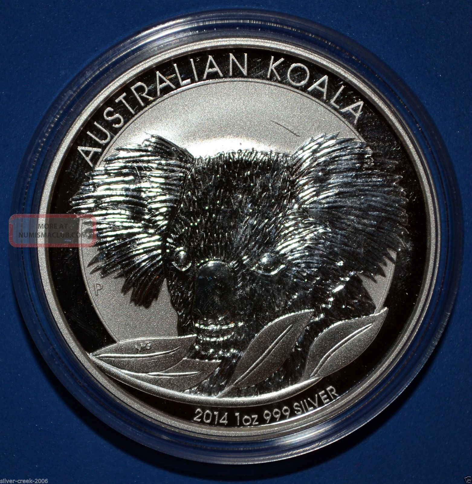 BU 2011 AUSTRALIA AUSTRALIAN KOALA BEAR .999 SILVER 1/2 OZ