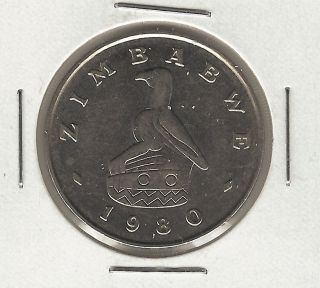 Zimbabwe Dollar,  1980 photo